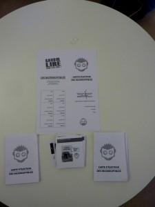 matériel de vote