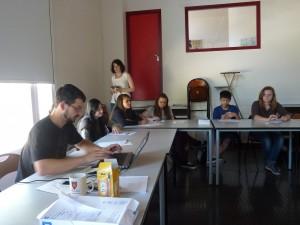 Atelier d'écriture pour Linda, Léa K, Chloé et Laurine