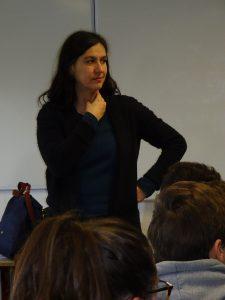 échange de Violaine Schwartz avec la classe de 3°5